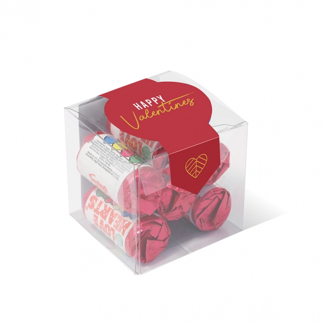 Valentines – Clear Cube – Love Hearts®