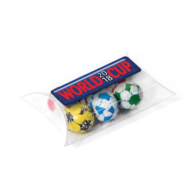 Large Pouch – Chocolate Footballs