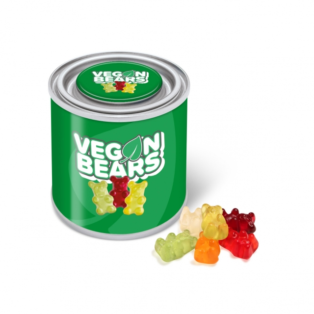Small Paint Tin – Vegan Bears