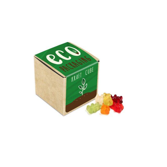 Eco Range – Eco Kraft Cube – Kalfany Vegan Bears – 40g