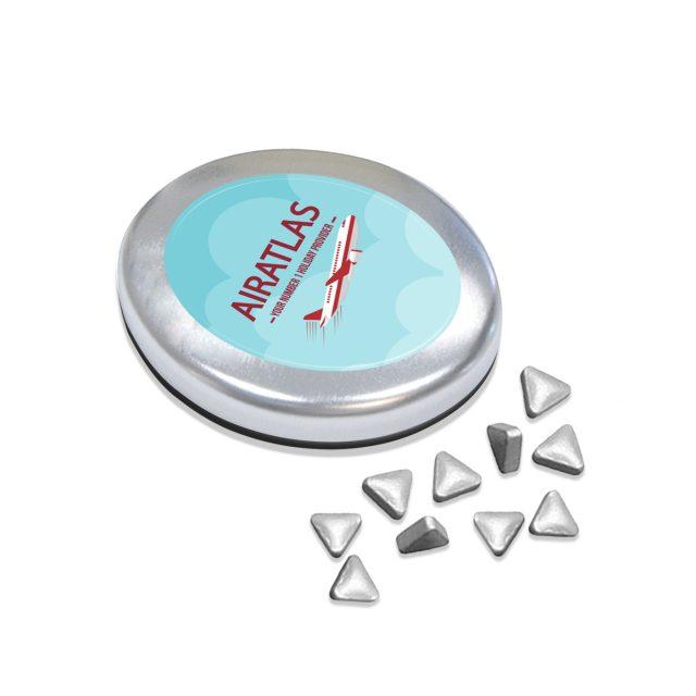 Kalfany – Snap-Master Tin – Silver Peppermints
