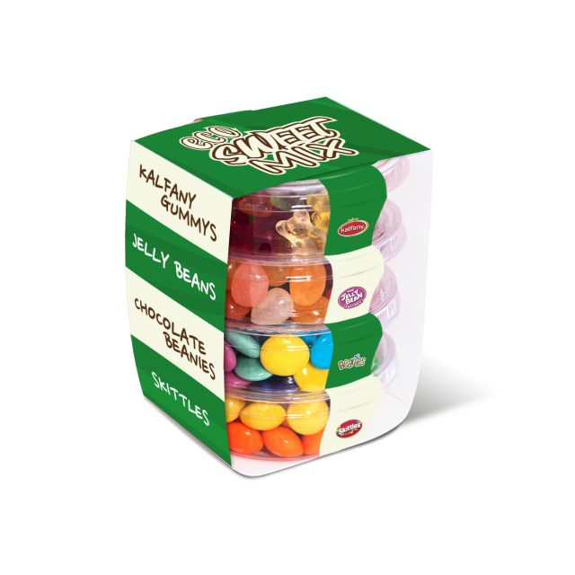 Eco Range – Eco Pot Stackers – Sweets Mix