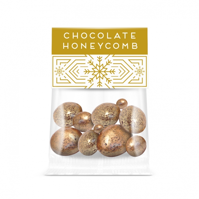 Winter Collection – Eco Info Card – Chocolate Coated Honeycomb