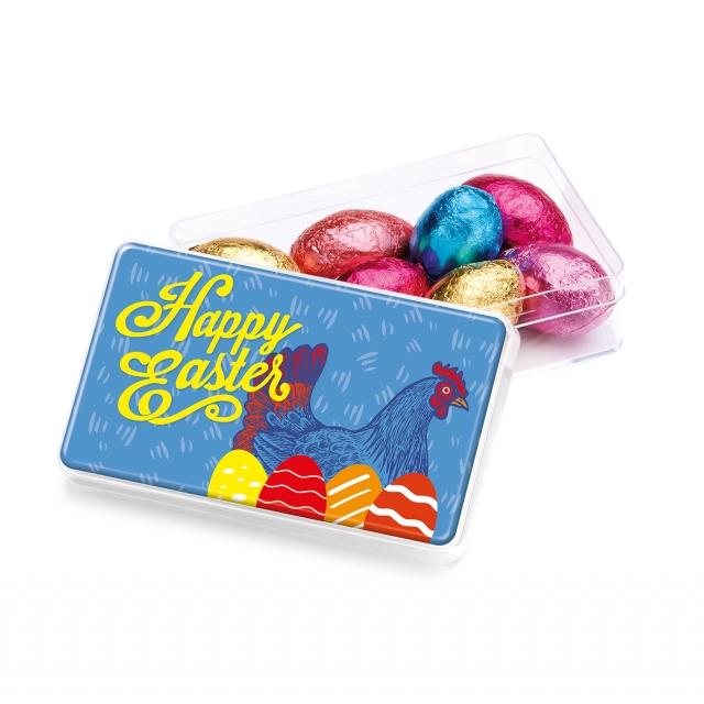 Easter – Maxi Rectangle Pot – Foiled Chocolate Eggs