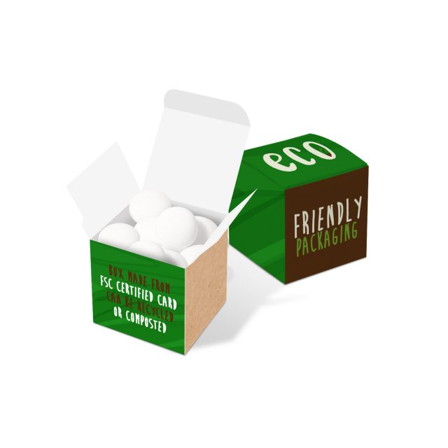 Eco Range – Eco Cube Box – Mint Imperials