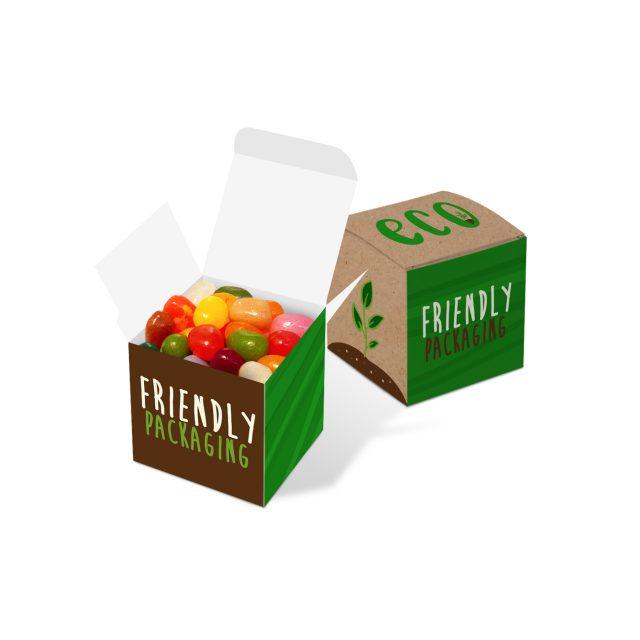 Eco Range – Eco Cube Box – The Jelly Bean Factory®
