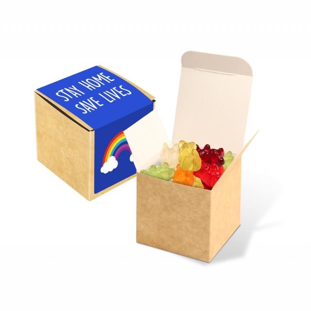 Eco Kraft Cube – Vegan Bears – 40g
