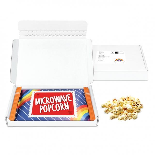 Postal Packs – Midi Postal Box – Microwave Popcorn