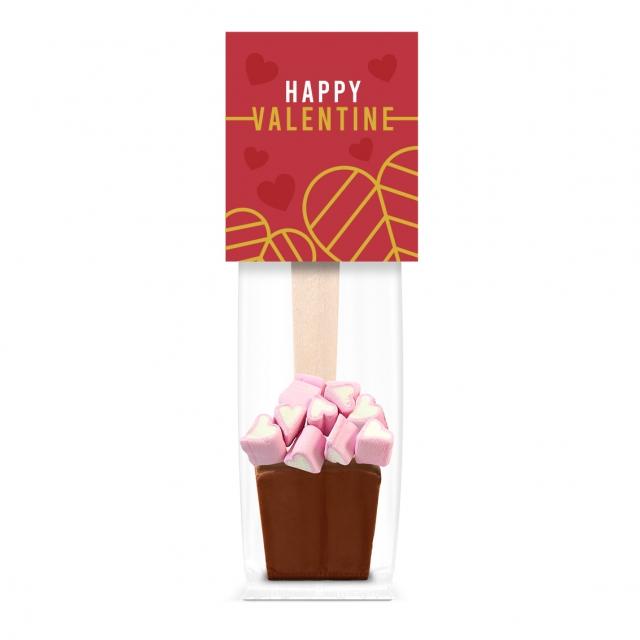 Valentines – Info Card – Hot Choc & Marshmallows