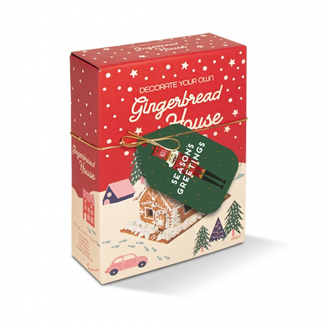 Winter Collection – Gingerbread House Box – Decoration Kit!